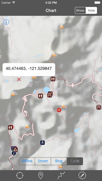 Lassen Volcanic National Park – GPS Offline Park Map Navigator screenshot-1
