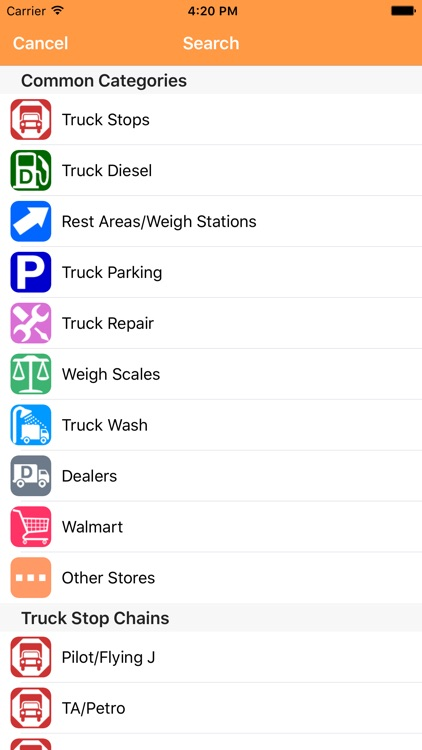 iExit Trucks: The Trucker's Highway Exit Guide screenshot-3