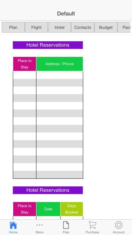 Vacation Planner screenshot-4