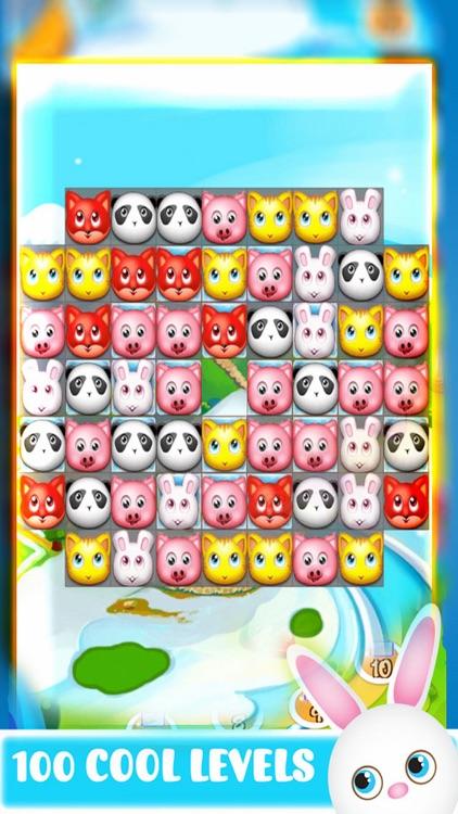 Happy Pet: Match 3 Puzzle Animals