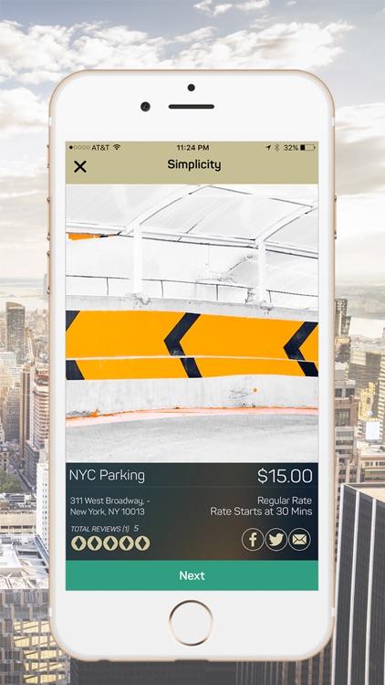 Simplicity - Parking Deals