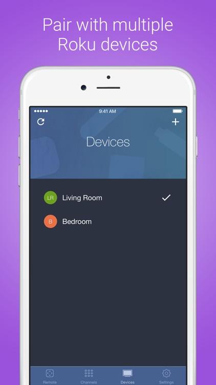 Roku Remote - RoByte screenshot-3