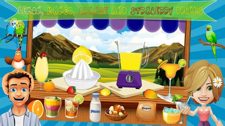 Fruity Summer Drink Fever - Play Free Fun Frozen Juicy Drink Maker Kids Game screenshot-3