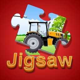 Cartoon Jigsaw Puzzle Box for Tractor Tom