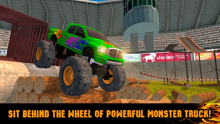 Extreme Monster Truck Stunt Racing 3D