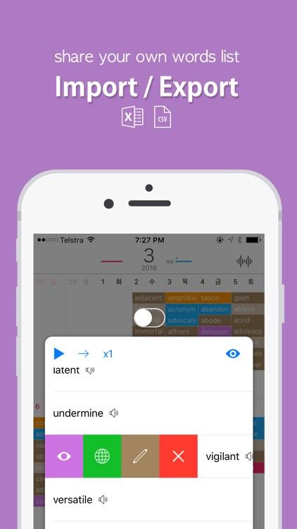 Word Calendar - Improve Your English Vocabulary screenshot-3