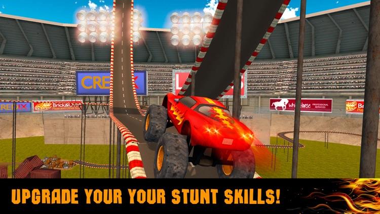 Extreme Monster Truck Stunt Racing 3D screenshot-3