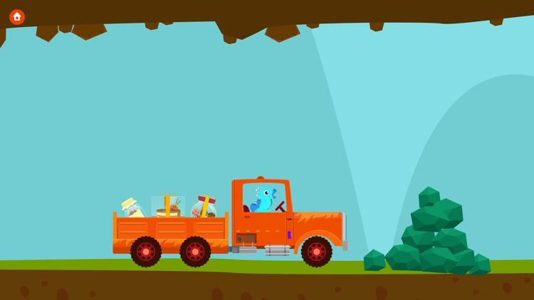 Dinosaur Truck - Driving Simulator Games For Kids screenshot-3