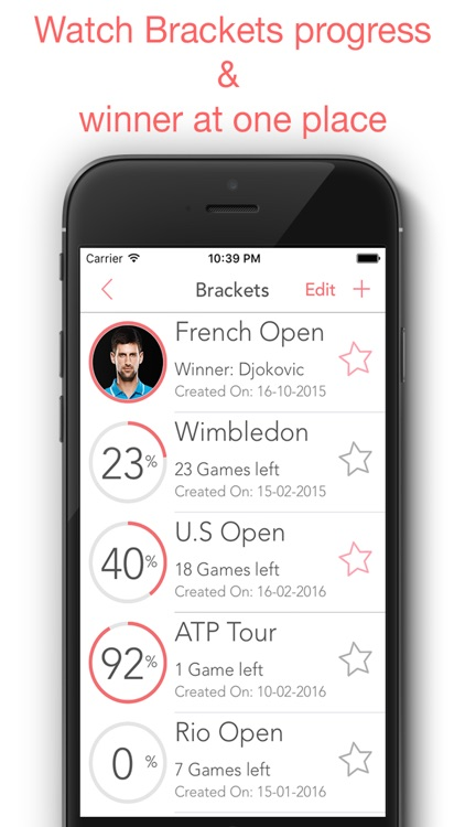 Bracket - Tournament Builder for Sports