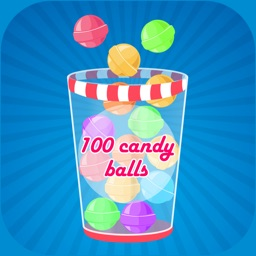 100 Candy. Catch and Save The Balls Free