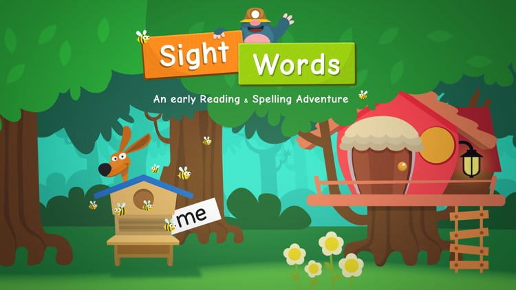Sight Words - An early reading & spelling adventure! screenshot-0