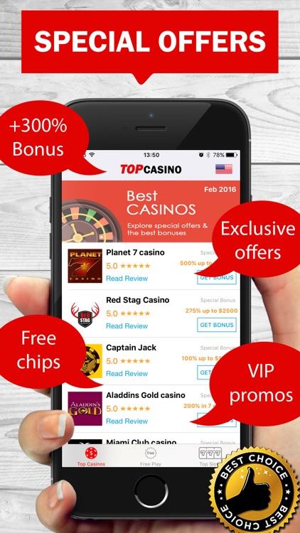 Top Casino Best Casinos Offers Bonus Free Deals For Online