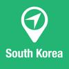 BigGuide South Korea Map + Ultimate Tourist Guide and Offline Voice Navigator