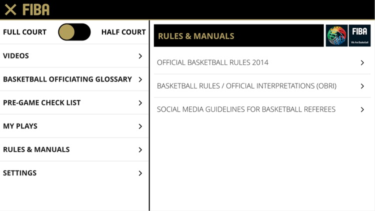 FIBA iRef PGC screenshot-3