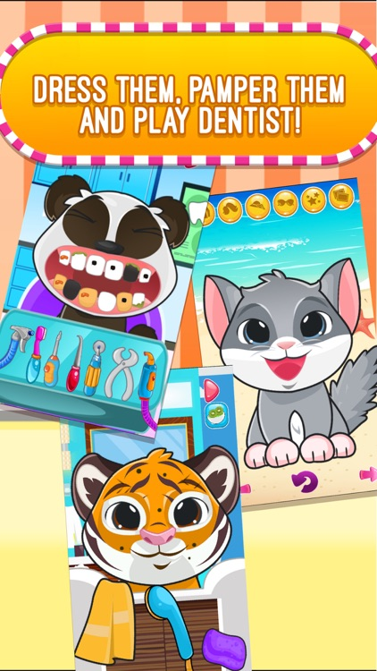 My Little Pet Shop Clubhouse - Clinic, Salon and Fashion Spa Makeover