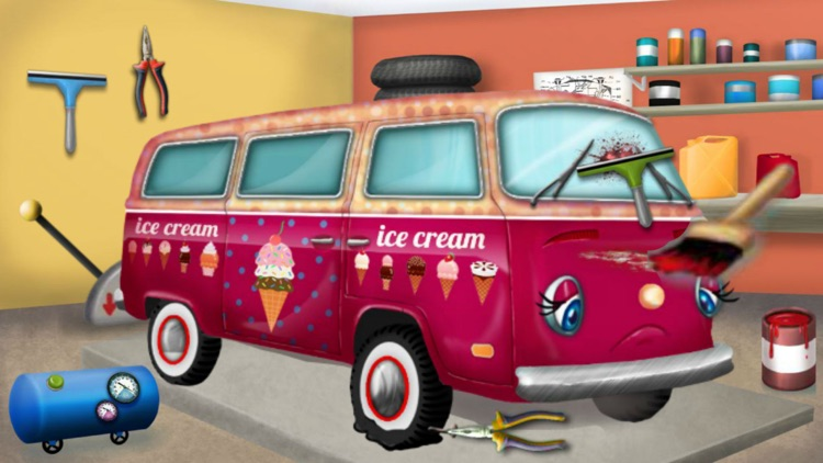 Superior Car Beauty Shop 2u2014u2014 Fashion Ride Care、Fantasy Ice Cream