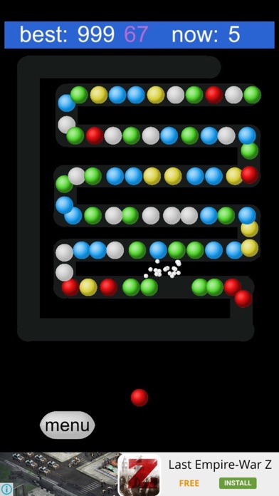 Bubble Shooter:Zig Zag Way screenshot three