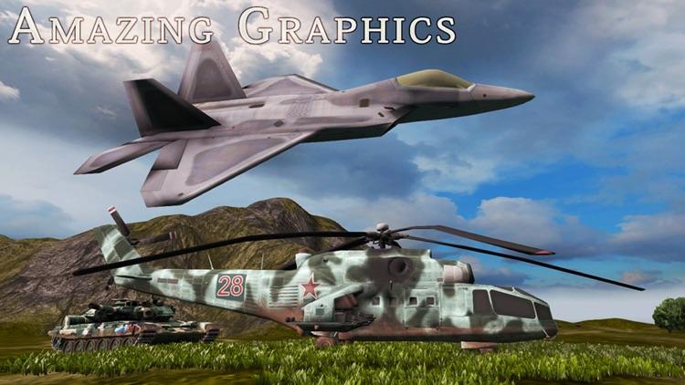 F-22 Raptor - Combat Flight Simulator of Infinite Airplane Hunter