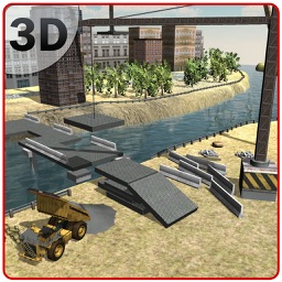 Bridge Construction Simulator - Offroad building simulation game