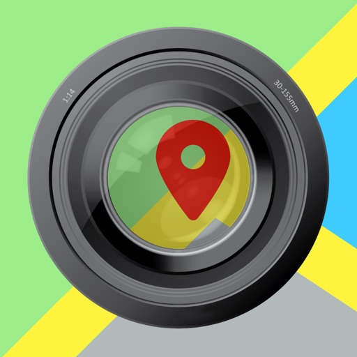 Map Camera: Append a Map to your Photo