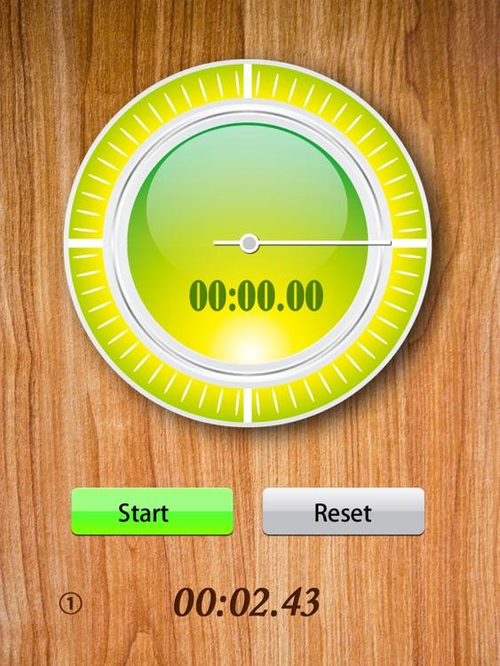 StopWatch for iPad screenshot-3
