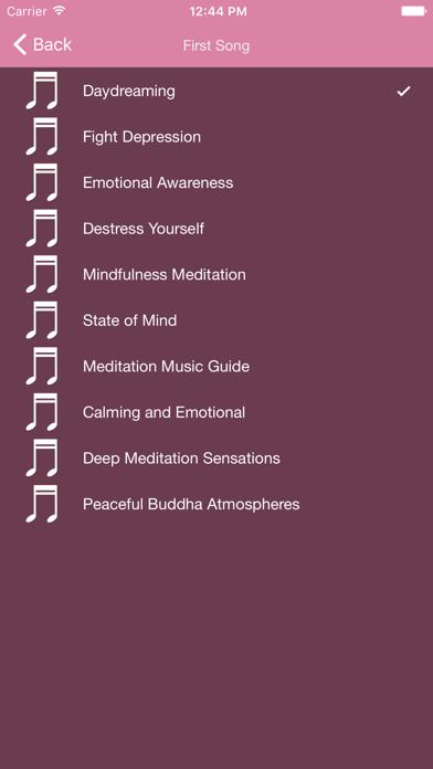 Binaural Beats Theta Waves – Brain Waves with Meditative Music for Yoga, and Hypnotherapy Experience screenshot three