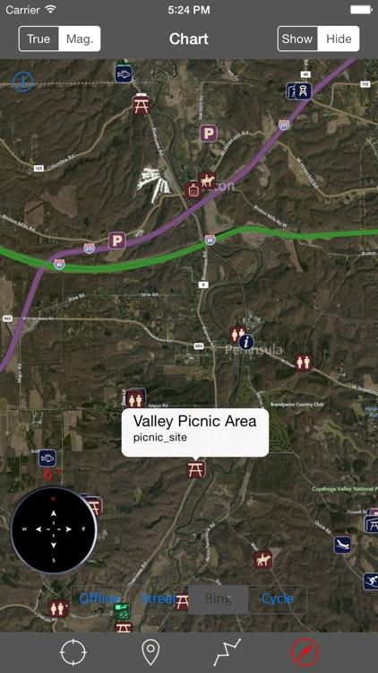 Cuyahoga Valley National Park – GPS Offline Park Map Navigator