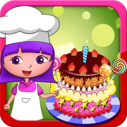 Anna's birthday cake bakery shop (Happy Box) free kids games