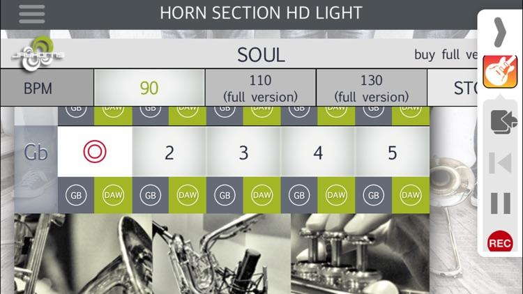 Horn Section HD Light screenshot-4