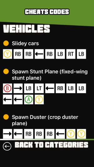 grand theft auto v cheat codes for ps4