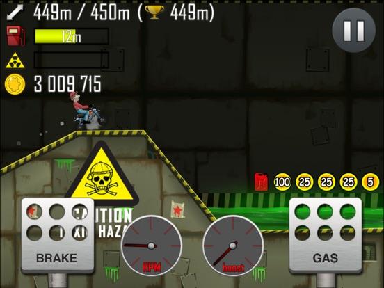 Hill Climb Racing для iPad