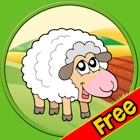 exciting farm animals for kids - free icon