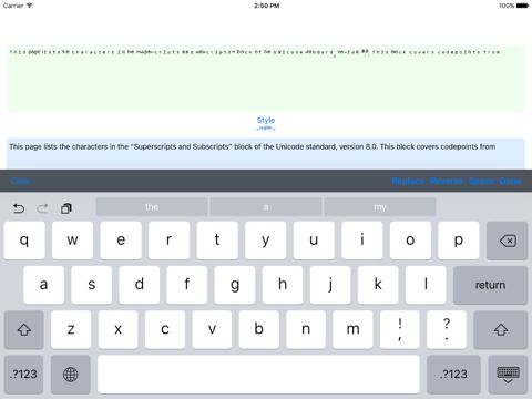 Screenshot #6 pour Ʋиιтeϰт - Weird Text Generator