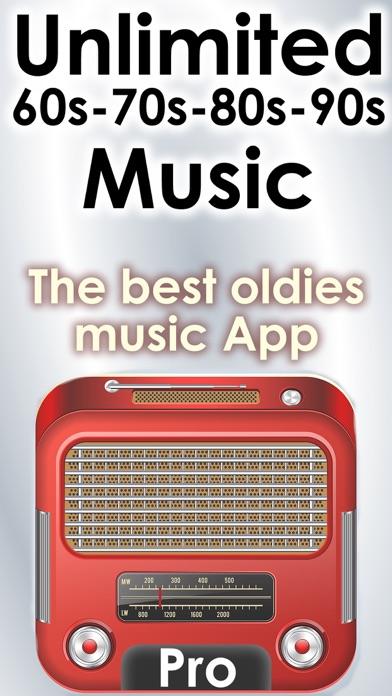 אפליקציית 70s - 90s Oldies songs mega music hits radio