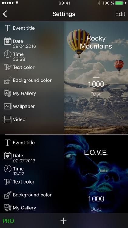1000 days - Event Countdown screenshot-3