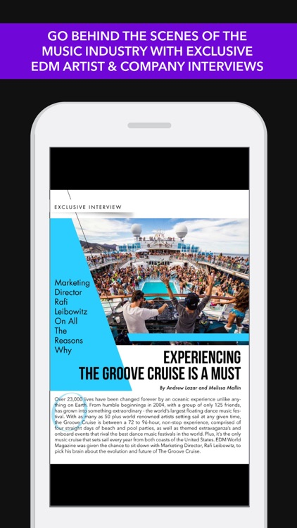EDM World Magazine +AAA #1 App screenshot-0