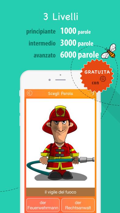 Screenshot of 6000 Parole - Impara Vocabolario Tedesco Gratis3