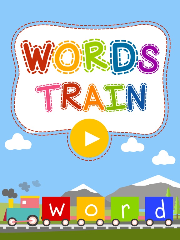 Words Train - Spelling Bee & Word Game for kids-ipad-0