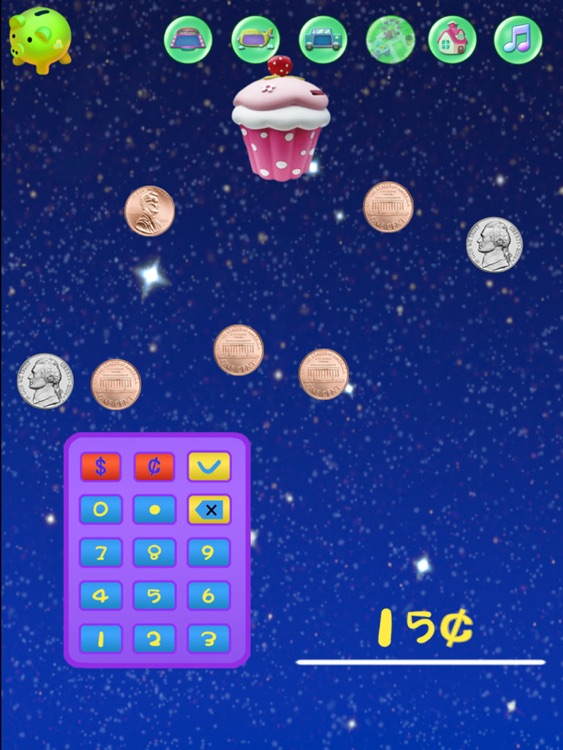 Baby Supermarket:Grade 1 Math Games-Candy Elementary School:USD Coins Counter,Addition and Subtraction HD! screenshot-4