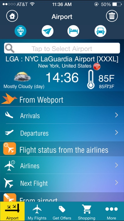 LaGuardia Airport (LGA) + Flight Tracker New York City screenshot-1