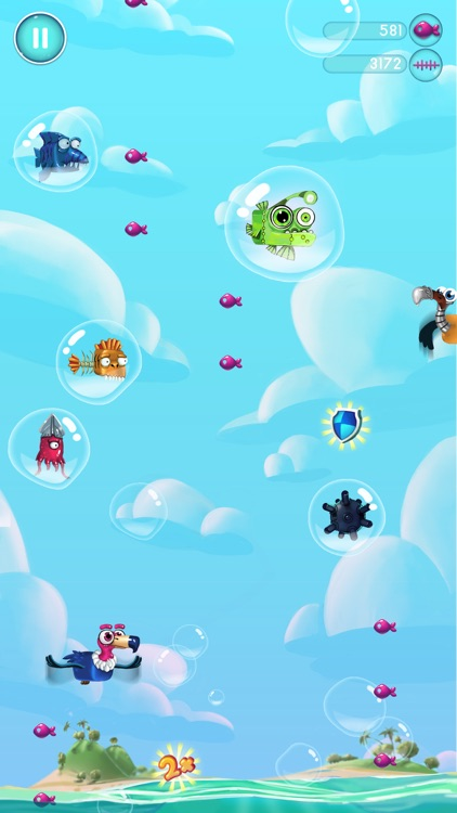 Jelly Fish Bubble screenshot-4