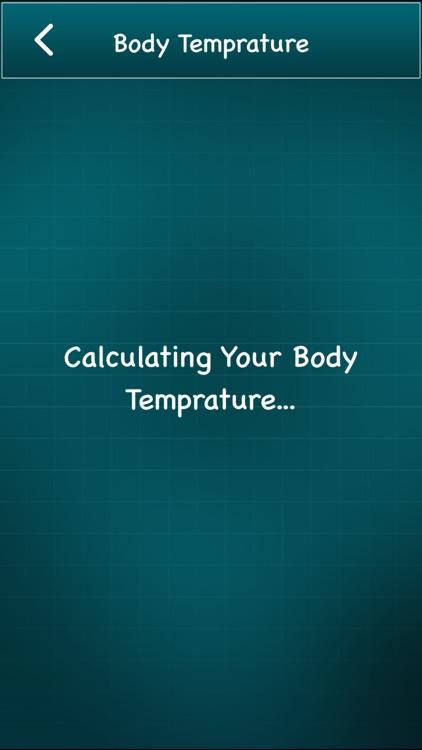 Finger Body Temperature screenshot-3