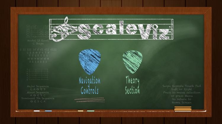 ScaleViz - Visual Guitar Fretboard Shape Trainer