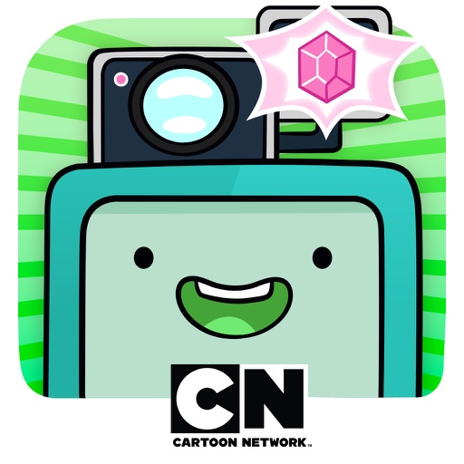 BMO Snaps - Adventure Time Photo Game icon