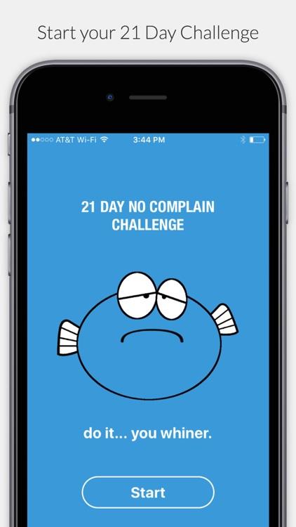 Carp - 21 Day No Complaint Challenge screenshot-0