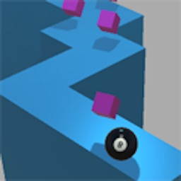 Pool Ball - Zig Zag And Collect Gems