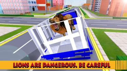 点击获取City Zoo Transport Truck 2016: Grand Truck Animal Transporter Driving And Parking Simulator