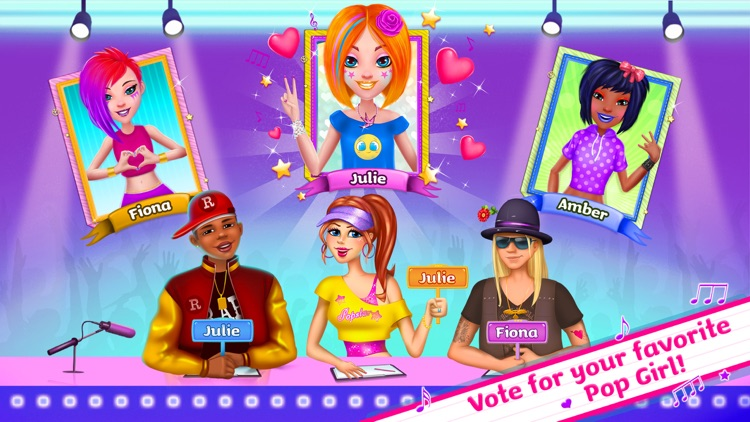 Pop Girls - High School Band screenshot-4