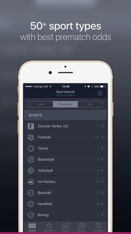Sportsbook by Vivarobet