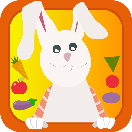Умный кролик – обучающая логическая игра для малышей